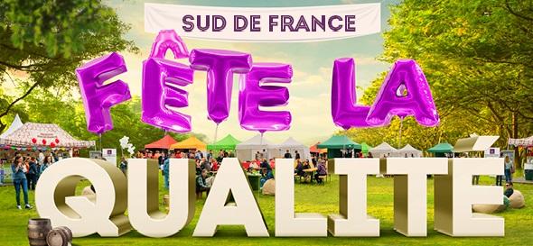 Sud de France fête la qualité 2020 / Bannière de la manifestation