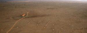 Vue aérienne de la Crau