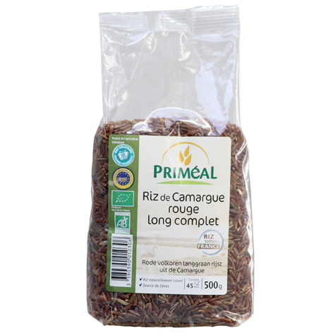 riz rouge de Camargue IGP Bio rouge long complet