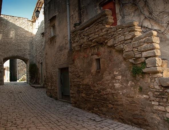 Village médiéval du Bas Languedoc