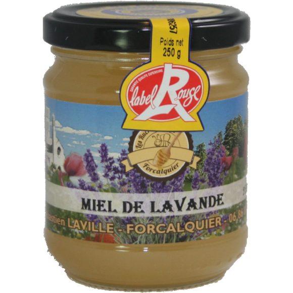 Miel de lavande label rouge cristallisé IGP miel de Provence, apiculteur récoltant à Forcalquier