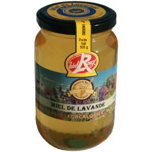 Miel de lavande de Provence IGP Label rouge Les ruchers de Noé 2018 - 500 g
