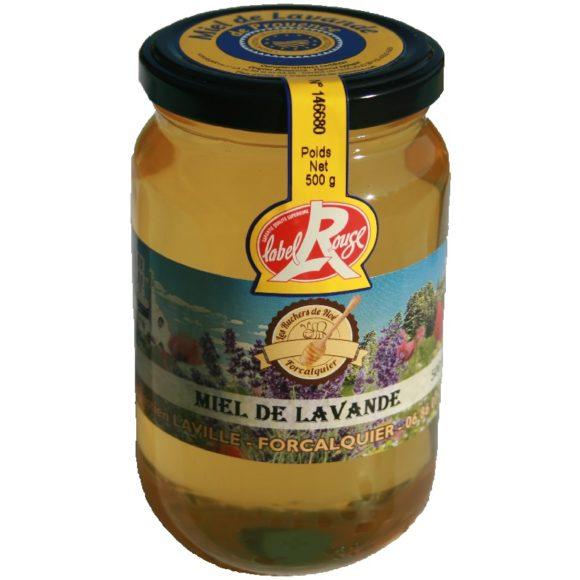 Miel de lavande Label rouge IGP Miel de Provence, Les ruchers de Noé 2018 - 500 g liquide