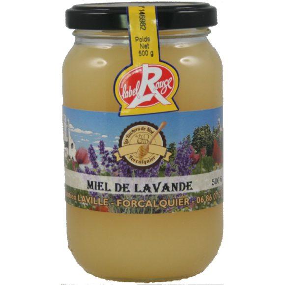 Miel de lavande de Provence IGP et Label rouge Les ruchers de Noé 2018 500g - cristallisé