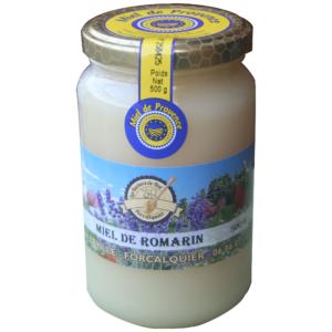 Miel de romarin de Provence IGP Les ruchers de Noé 500 g