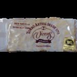 Nougat aux amandes IGP Torro d'Agramunt Vicens, touron artisanal, de qualité supérieure, très riche en amandes 60% et en miel 10% Denominacion de origen