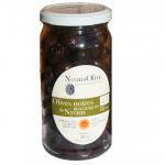 Olives noires de Nyons AOP Bio / AOC au naturel Nyonsolive, coopérative Vignolis