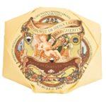 Panforte di Siena IGP Emballé dans un joli papier cartonné italien ornée de motifs , l