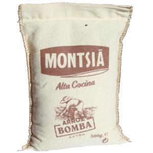 riz Bomba AOP Delta de l'Ebre - DOP Arroz del delta del Ebro - riz spécial paëlla toile de jute Montsia Alta cocina