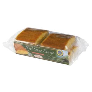 Sobao Pasiego IGP gateau pur beurre produit dans les montagnes de Cantabria en Espagne / 4 pièces emballage individuel
