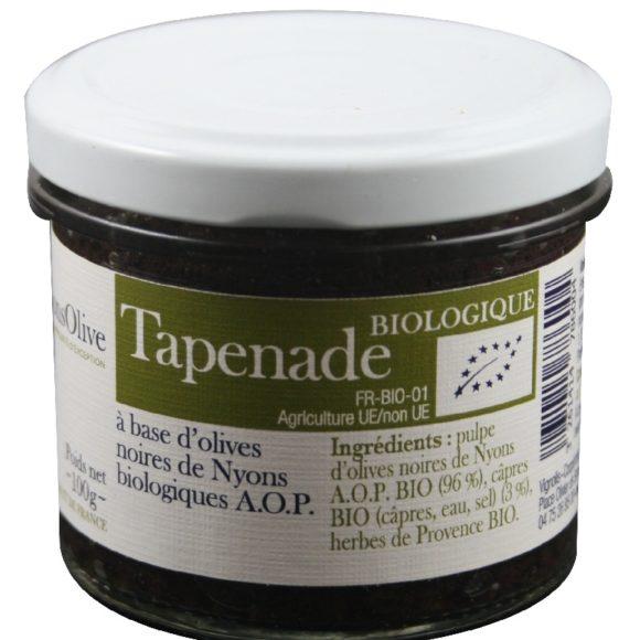tapenade bio aux olives de Nyons AOP