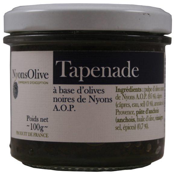 tapenade d'olives de Nyons AOP câpres et anchois,