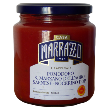 Tomates pelées AOP Pomodoro San Marzano dell'agro Sarnese Nocerino Casa Marrazzo
