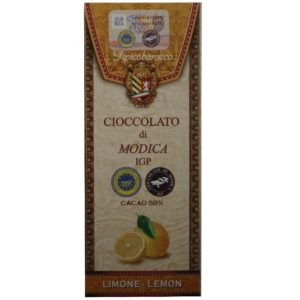 Chocolat de Modica IGP au Citron de Sicile, Tipico Barocco sur Originel