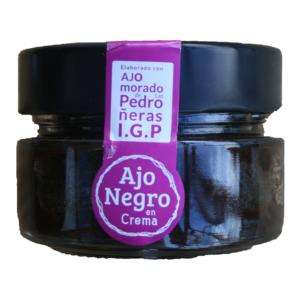 Crème d' ail noir d'ajo morado de Las Pedroñeras IGP Black Allium Ajo morado de Las Pedroñeras IGP Inno Food