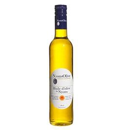 huile d'olive de Nyons AOP Nyonsolive, coopérative Vignolis, vierge extra