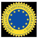 Spécialité Traditionnelle Garantie logo STG ex Attestation de spécificité