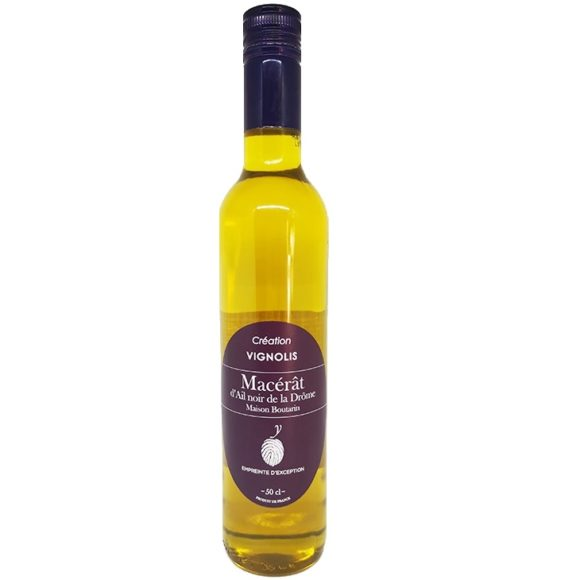 macérat d'ail noir de la Drôme IGP Boutarin