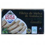 auxides d'Andalousie IGP Melva de Andalucia à l'huile d'olive boite USISA 120g
