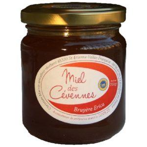 miel debruyère Erica IGP Cévennes 250g Le Mas Stevenson