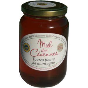 Miel des Cévennes IGP fleurs de montagne Christian Martin apiculteur récoltant pot de 500 g miel d'exception, tilleul