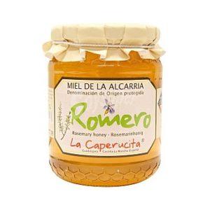 miel de romarin de La Alcarria AOP - La Caperucité 500 g Jesus Donoso Garcia