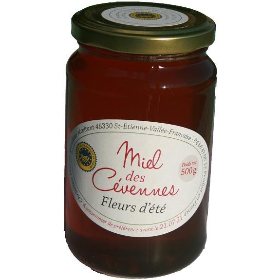 Miel des Cévennes IGP fleurs d'été - Mas Stévenson apiculteur récoltant St Etienne Vallée Française
