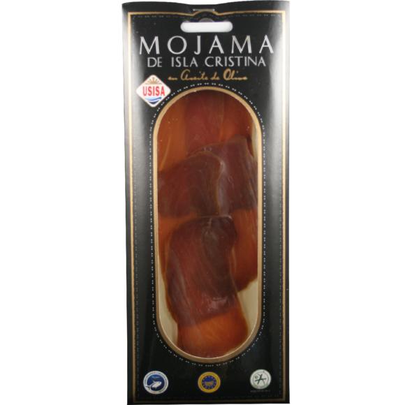 Mojama de Isla Cristina IGP en tranches à l'huile d'olive