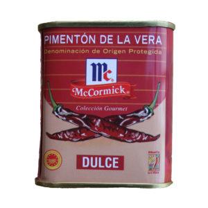 Piment doux Pimentón de la Vera AOP DOP boite métallique traditionnelle