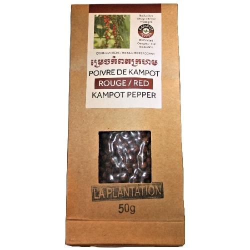 poivre rouge de Kampot IGP