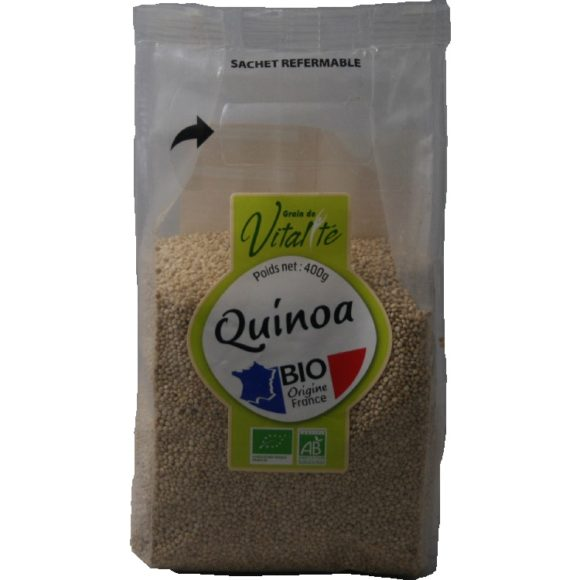 Quinoa blond bio origine France - marque Grain de Vitalité